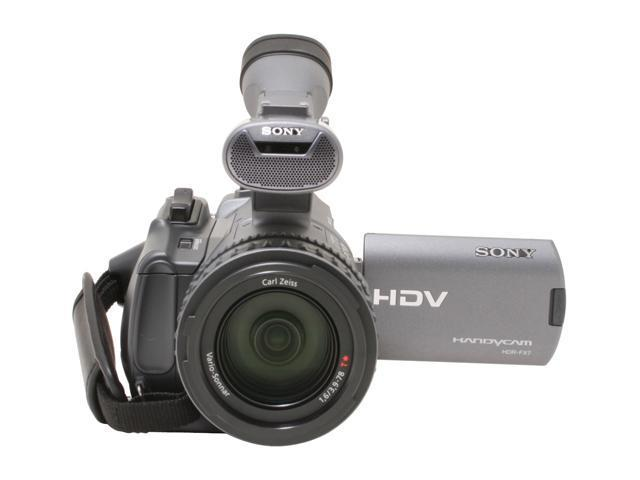 "SONY HDR-FX7 Gray 3 x 1/4"" ClearVID CMOS Sensors 3.5"" 211K Wide (16:9) Touch Panel LCD 20X Optical Zoom High Definition Handycam Camcorder"