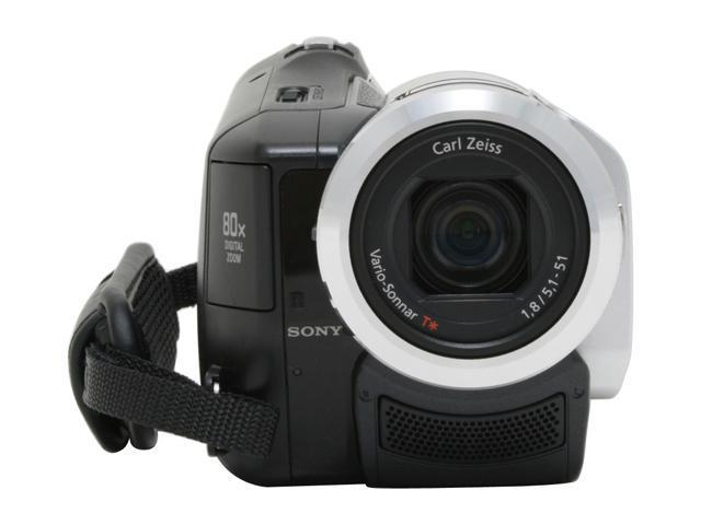 "SONY HDR-HC5 Silver 1/3"" ClearVid CMOS Sensor 2.7"" 211K Touch Panel LCD 10X Optical Zoom High Definition Handycam Camcorder"
