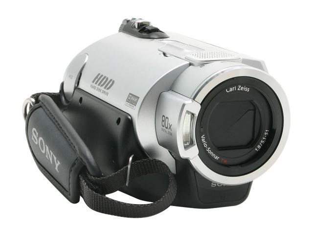 "SONY DCR-SR200 1/3"" ClearVid CMOS Sensor 2.7"" 211K Touch Panel LCD 10X Optical Zoom 40GB HDD Handycam Camcorder"