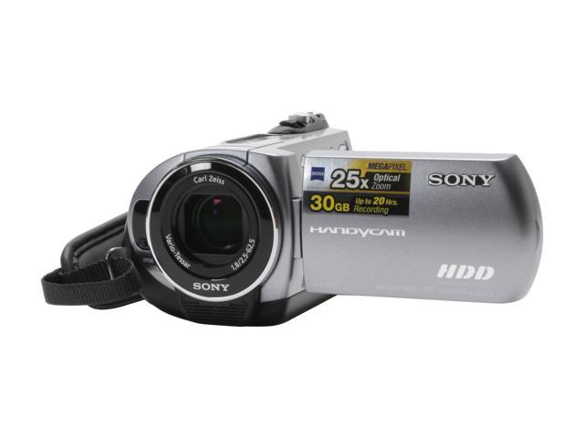 "SONY DCR-SR62 1/6"" CCD 2.7"" 123K LCD 25X Optical Zoom HDD/Flash Memory Camcorder"
