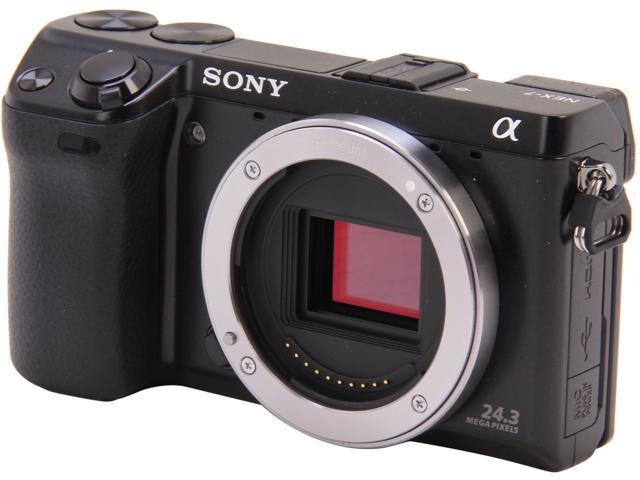 SONY Alpha NEX-7/B Black 24.3 MP 3.0
