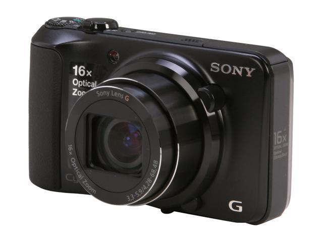 SONY Cyber-shot DSC-H90/B Black 16.1 MP 16X Optical Zoom Digital Camera