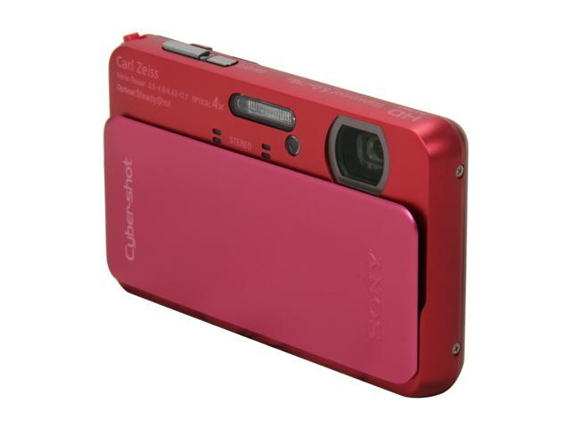 SONY Cyber-shot DSC-TX20/P Pink 16 MP 4X Optical Zoom Digital Camera