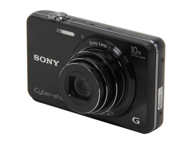 SONY DSC-WX150/B Black 18 MP 10X Optical Zoom 25mm Wide Angle Digital Camera