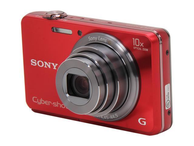 SONY DSCWX150/R Red 18 MP Digital Camera