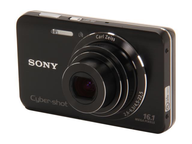SONY DSC-W650/B Black 16.1 MP 5X Optical Zoom Digital Camera