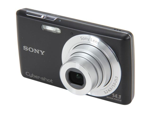SONY Cyber-shot DSC-W620/B Black 14.1 MP Digital Camera