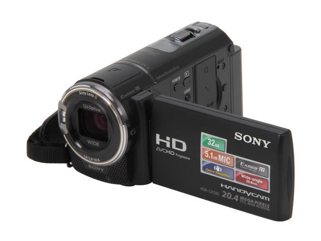 SONY HDR-CX580V Black 1/3.91