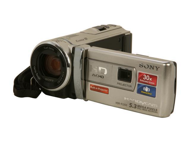 SONY HDR-PJ200/S Silver 1/5.8