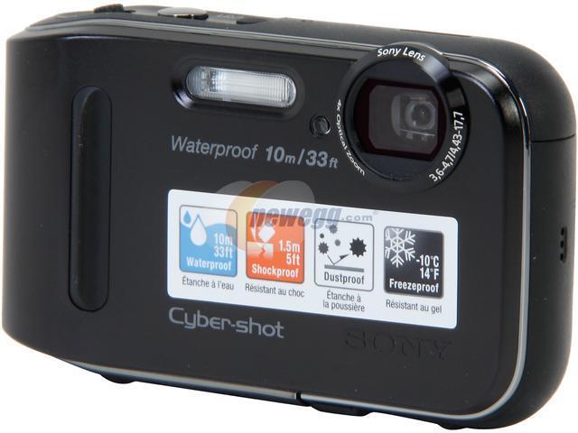 SONY DSCTF1/B Black 16.1 MP Waterproof Digital Camera