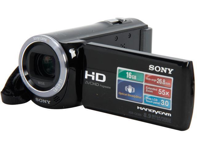SONY HDR-CX380/B Black 1/5.8