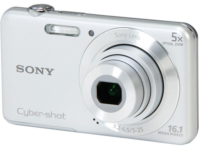 SONY Cyber-shot DSC-W710 Silver 16.1MP Digital Camera