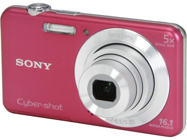 SONY Cyber-shot DSC-W710/P Pink 16.1MP 5X Optical Zoom Digital Camera