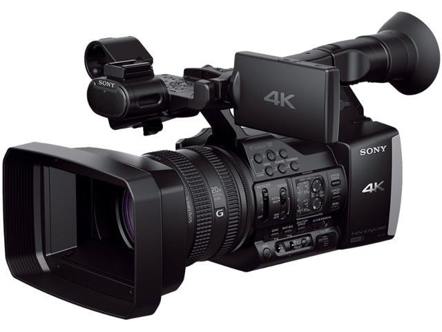 "SONY FDR-AX1 Black 1/2.3"" CMOS 3.5"" 1229K LCD 20X Optical Zoom Professional Camcorder"