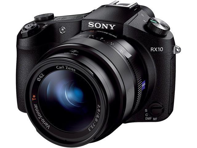 SONY Cyber-shot DSC-RX10 DSC-RX10/B Black 20.2 MP 8.3X Optical Zoom Digital Camera