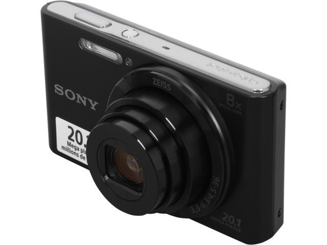 SONY Cyber-shot W830 Black 20.1MP Digital Camera