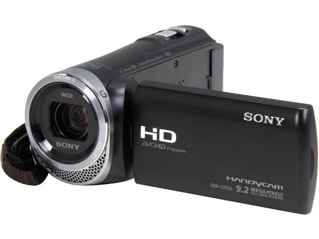 SONY HDR-CX330/B Black 1/5.8