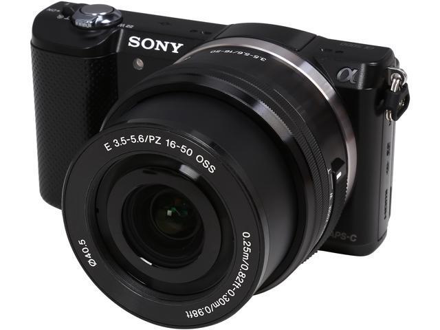 SONY Alpha a5000 ILCE-5000L/B Black 20.1MP 3.0