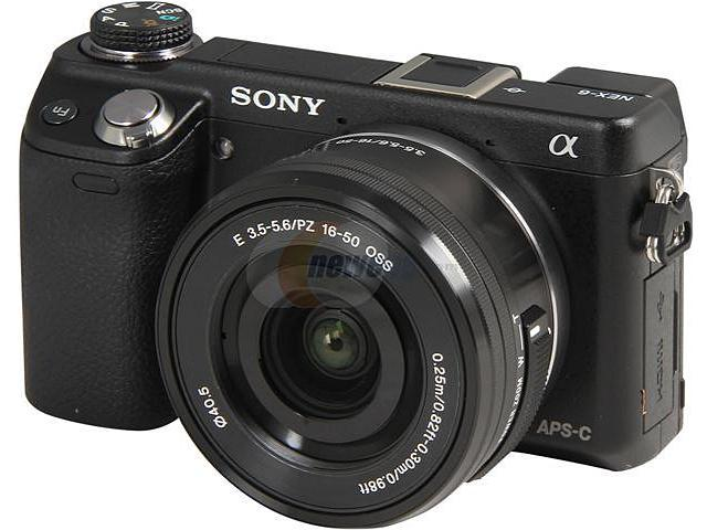 SONY Alpha NEX-6L/B Black Approx. 16.1 MP 3.0