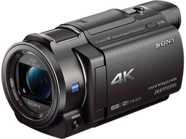 SONY FDR-AX33/B Black 1/2.3 type (7.76 mm) back-illuminated