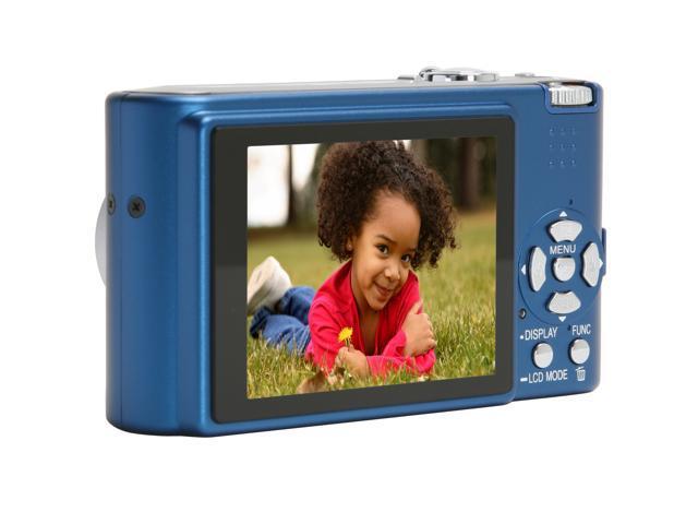 Panasonic DMC-FX10A Blue 6.0 MP 3X Optical Zoom Digital Camera
