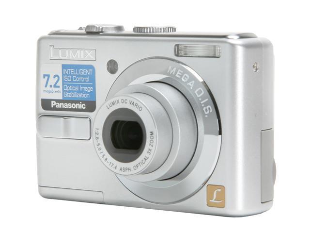Panasonic DMC-LS70S Silver 7.2 MP 3X Optical Zoom Digital Camera