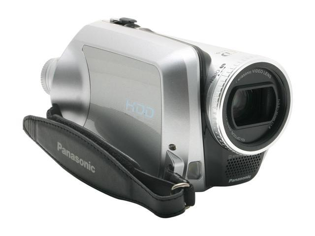 Panasonic SDR-H200 Black&Silver 3CCD 10X Variable Speed 30GB Hard Disk Drive/SD Palmcorder Camcorder
