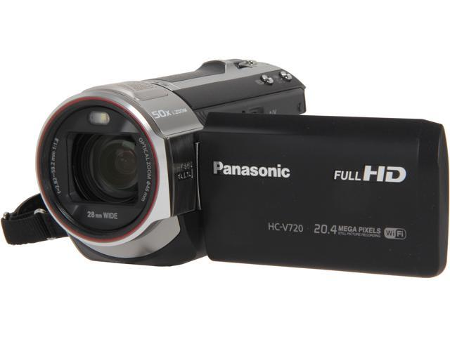 Panasonic HC-V720K Black Full HD HDD/Flash Memory Camcorder