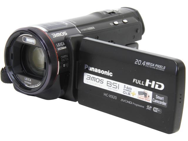 Panasonic HC-X920K Black 1/2.3