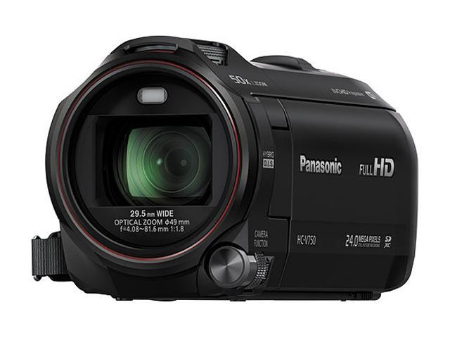 Panasonic V750 HC-V750K Black 20X Optical Zoom Full HD Camcorder