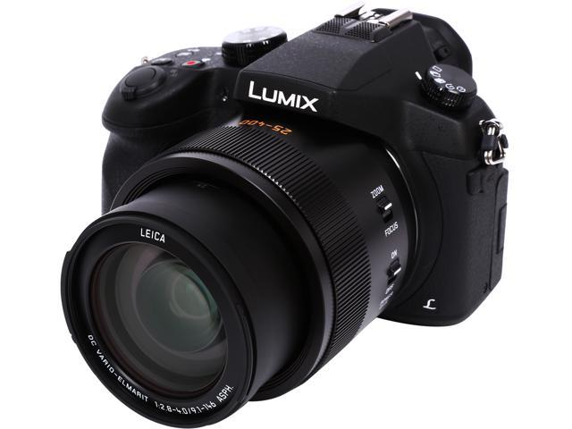 Panasonic FZ1000K Black 20.1MP 16X Optical Zoom 25mm Wide Angle Digital Camera HDTV Output