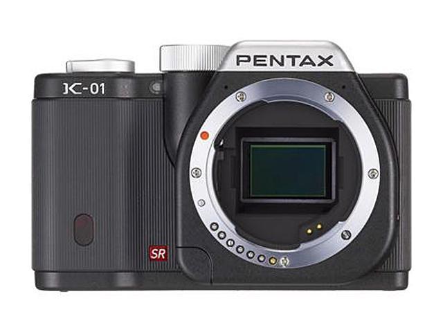 PENTAX K-01 (15222) Black Digital SLR Camera - Body Only