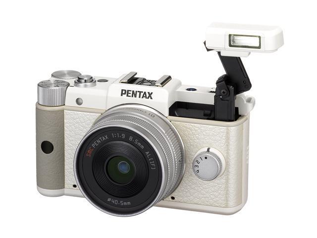 PENTAX Q (15143) White 12.4 MP 3.0