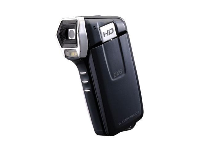 "DXG 5B7V Black 3.0"" LCD Full HD Flash Memory Camcorder"
