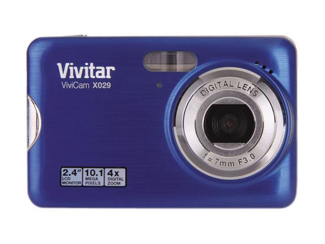 Vivitar Vivicam X029 Purple 10.1 megapixels Digital Camera