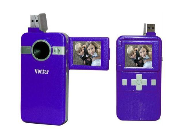 "Vivitar DVR 410 Grape 1.8"" TFT LCD Digital Video Recorder"