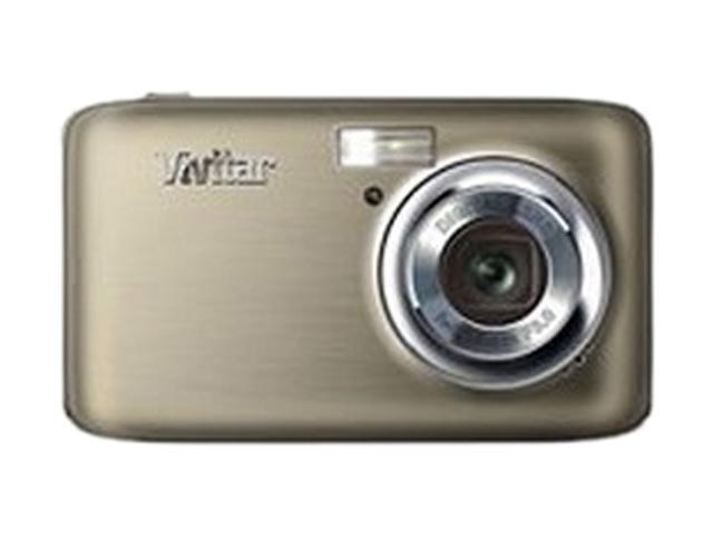 Vivitar ViviCam F128 Black 14.1 MP Digital Camera