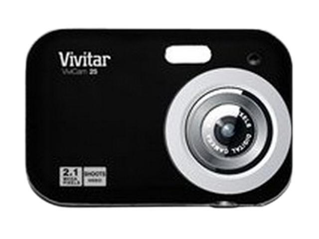 Vivitar ViviCam 25 Black 2.1 MP Digital Camera