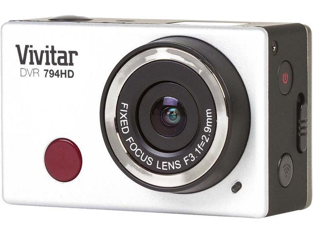 Vivitar DVR794HD-BLK-PR 12.1 MP Wifi Action Camera HD1080p Black