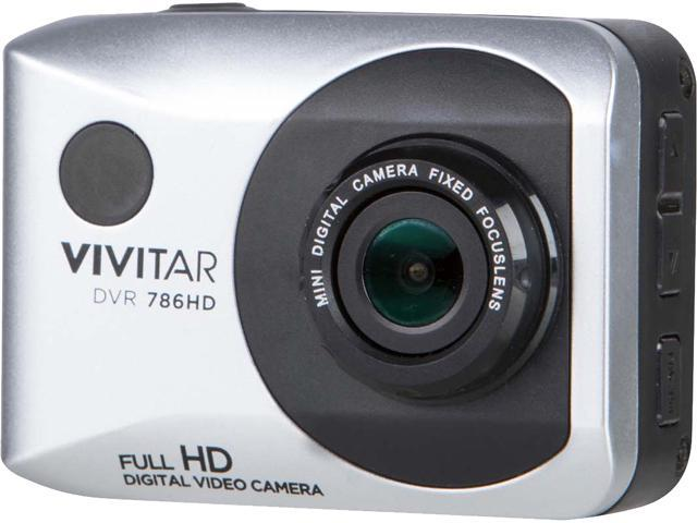 Vivitar DVR786HD-SIL-WM 12.1MP Full HF Action Cam Silver
