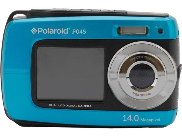 Polaroid IF045 Blue 14 MP Waterproof Shockproof Digital Camera