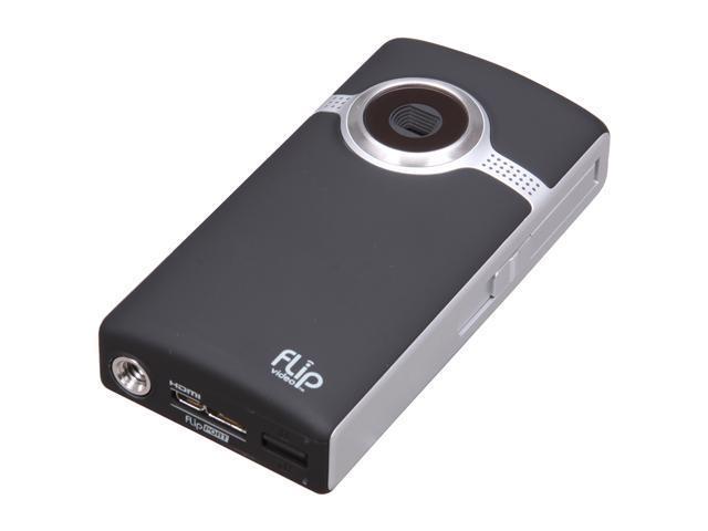 Flip UltraHD Video Camera - Black, 2 Hours (Newest Model)