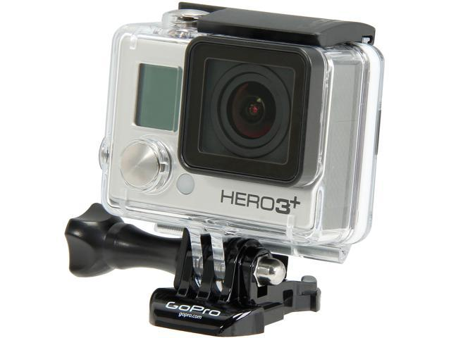 GoPro HERO3+ Black Edition CHDHX-302 / CHBDC-302 Silver 12 MP Action Camera