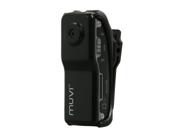 veho muvi Black Micro DV Camcorder