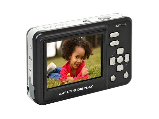 Cobra Digital DC8650 BK Black 8 MP Digital Camera