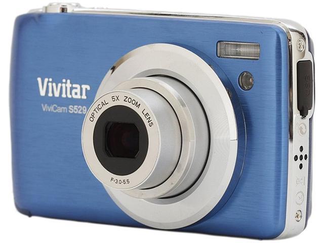 Vivitar ViviCam S529 16 Megapixel Compact Camera - Blue