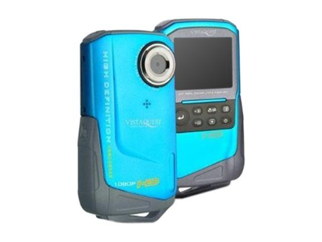 "VistaQuest DV-820 Blue 2.0"" LCD Full HD Pocket Camcorder"