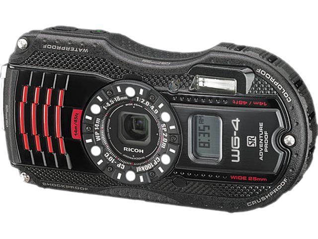 Ricoh WG-4 GPS 8542 Black 16 MP 3.0