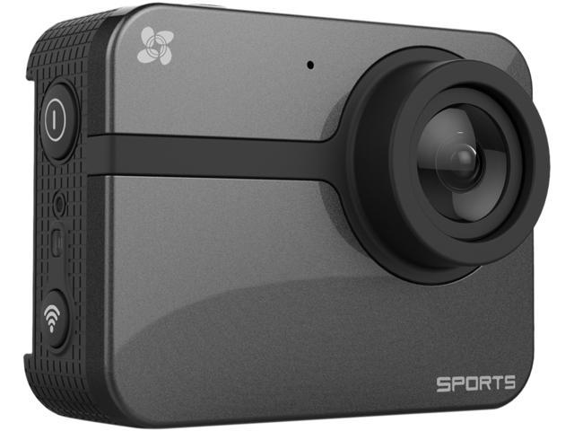 EZVIZ ONE HD Action Camera (Grey), 1080p 60FPS, with Waterproof Housing, Built-in Wi-Fi and Bluetooth
