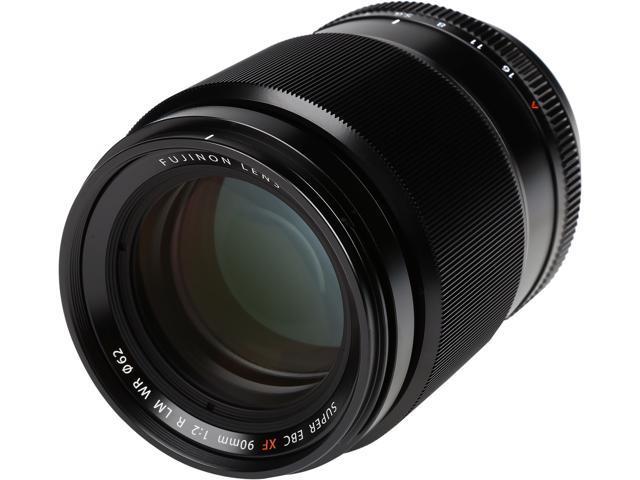 FUJIFILM 16463668 Compact ILC Lenses FUJINON XF90mmF2 R LM WR LENS Black